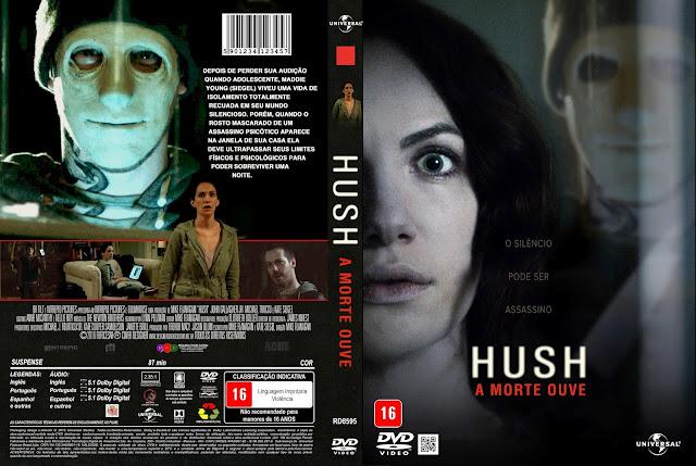 Capa DVD Hush A Morte Que Ouve