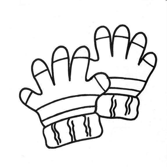 Dibujos Infantiles: Dibujo Infantil Guantes