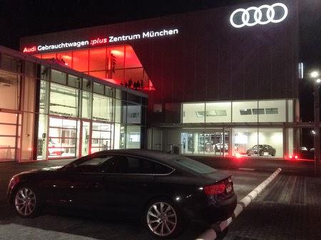 München News Premiere Mittelklassekombi In München