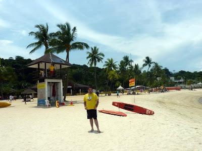 Playas de Singapur