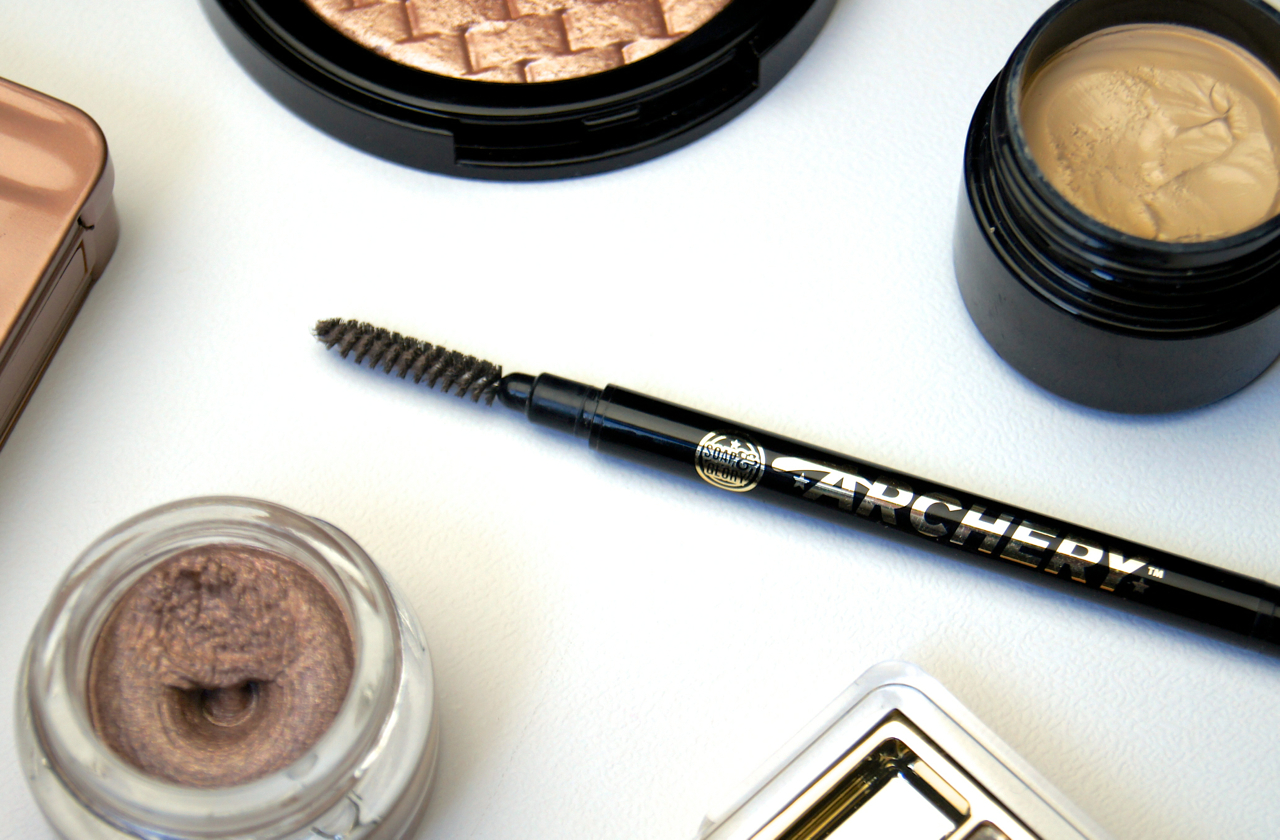 soap & glory archery 2 in 1 brow pencil brush hot chocolate review