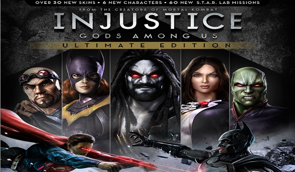 Injustice Gods Among US Ultimate Edition pc game computer software