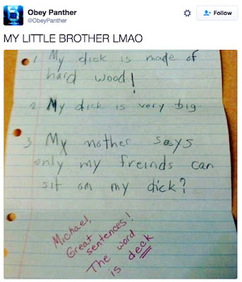 school project dick spelling funny fail