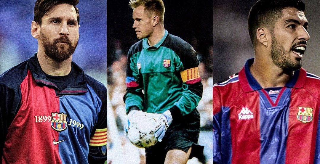 Amazing current fc barcelona players in classic kits by bara current fc barcelona players in classic kits stopboris Choice Image