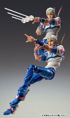 "Super Action Statue Johnny Joestar de ""Jojo's Bizarre Adventure: Steel Ball Run"" - Medicos Entertainment"