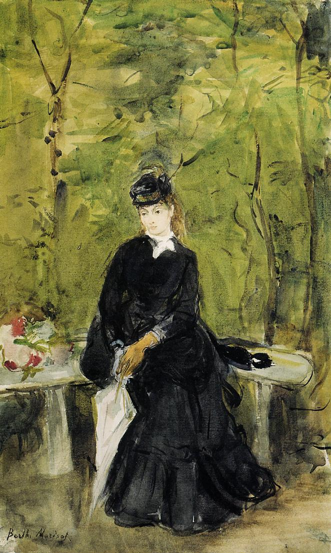 Berthe Morisot, Liebe, Kummer, Enttäuschung, die Zeit, Glück, das Leben, Schmerz, Schicksal, Stille, Verlust, Beziehung, erinnerung, vergangenheit, herzschmerz, begegnung, Paris, liebe auf den ersten blick, familie zerstören, geliebte haben, unglück, leid bringen, painting, malerei, bild, poetische Art