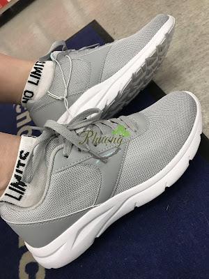 Giày thể thao, quần áo thể thao nhãn hiệu DEMIX của Nga