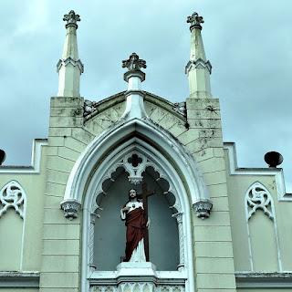 Detalhe da Fachada da Igreja Matriz de São Leopoldo