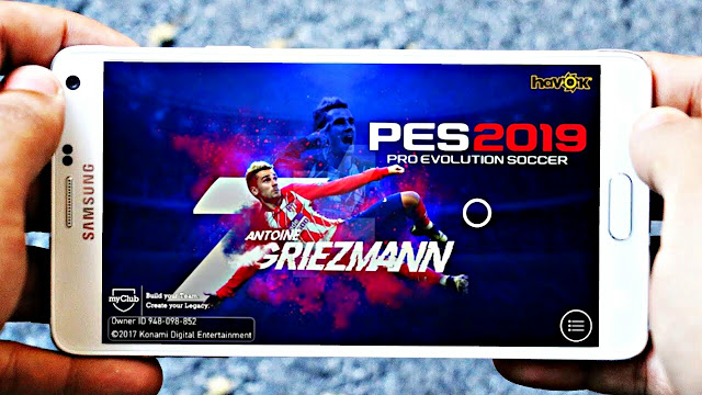 Download PES 2019 Mobile Android Graphics Patch Latest Version