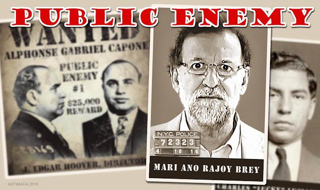 Mariano Rajoy, el enemigo público nº1