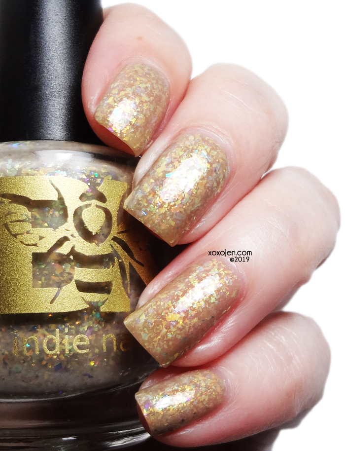 xoxoJen's swatch of Bees Knees Lacquer One Million Times Better