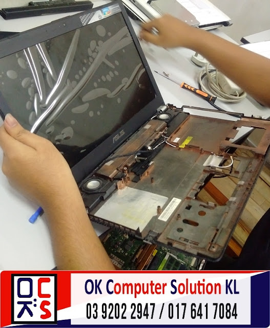 [SOLVED] SKRIN LAPTOP ASUS N56VZ | REPAIR LAPTOP DESA PANDAN 5