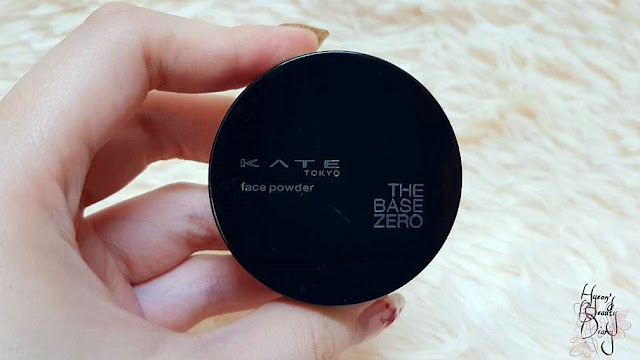 Review; KATE's Secret Skin Maker Zero The Base Zero SPF18 PA++ Face Powder