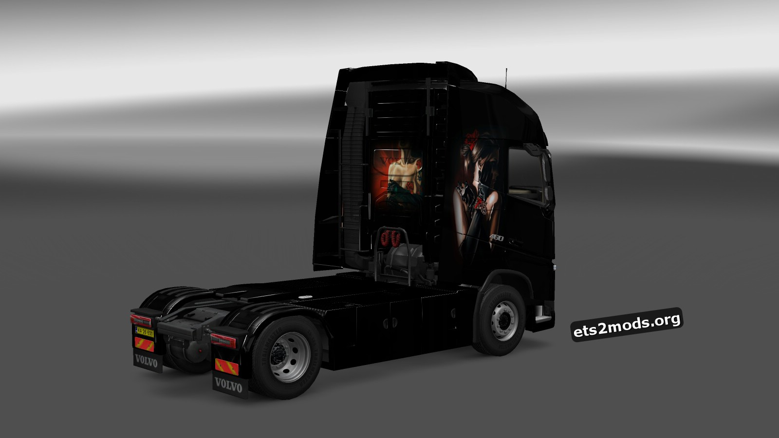 Lady of the Night Skin for Volvo 2013