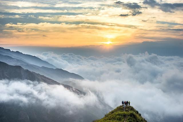 Ta Xua Clouds Paradise Viet Nam 1