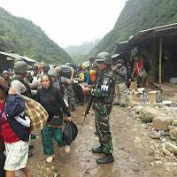 REKAYASA PEMBEBASAN SANDERA UNTUK MENUTUPI BISNIS ILEGAL MILITER DI AREAL FREEPORT - PAPUA