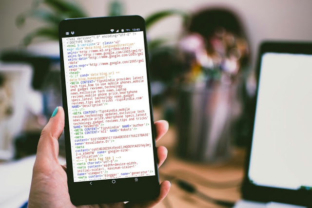 How to edit blogger theme in Android