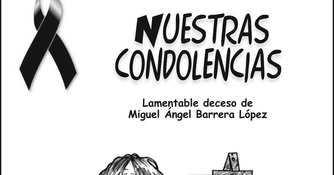 El mexiquense Hoy: Miguel Angel Barrera López, descance en paz
