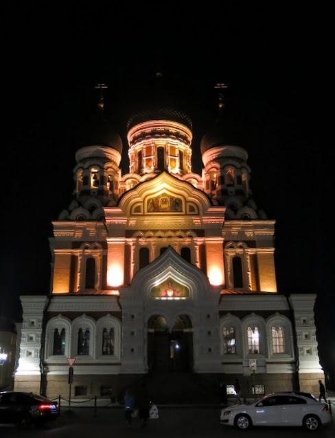 Tallinn, Estland, en hanseatisk UNESCO-stad