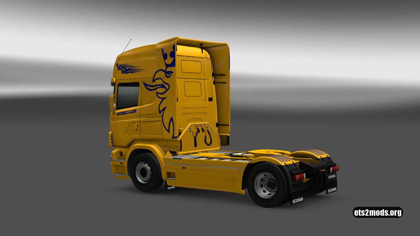 Scania 4 Sweden Edition Skin