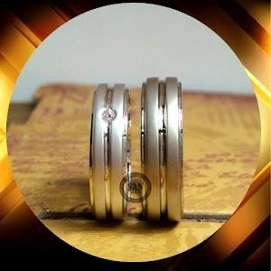 cincin emasputih paladium p5393