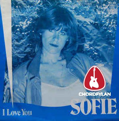 Lirik dan Chord Kunci Gitar I Love You - Sofie