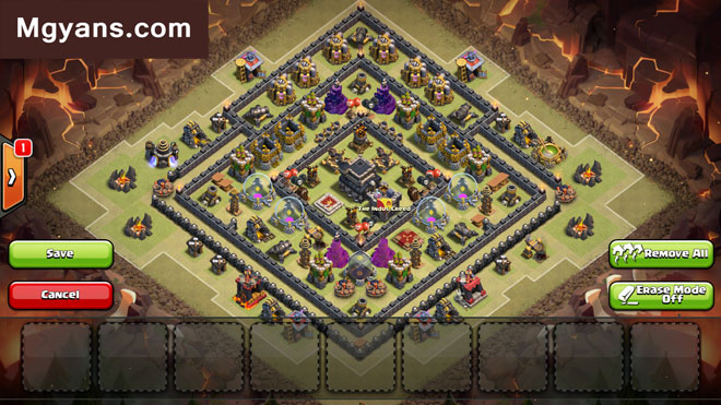 Base Coc Th 9 Pangkalan Perang 9