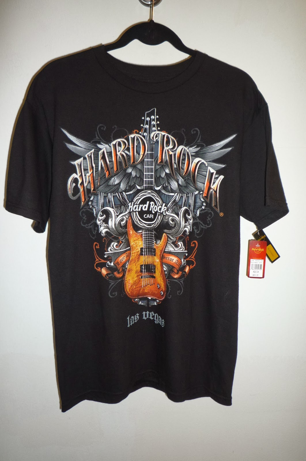 busybeeroom welcomes you hard rock cafe las vegas t shirt. Black Bedroom Furniture Sets. Home Design Ideas