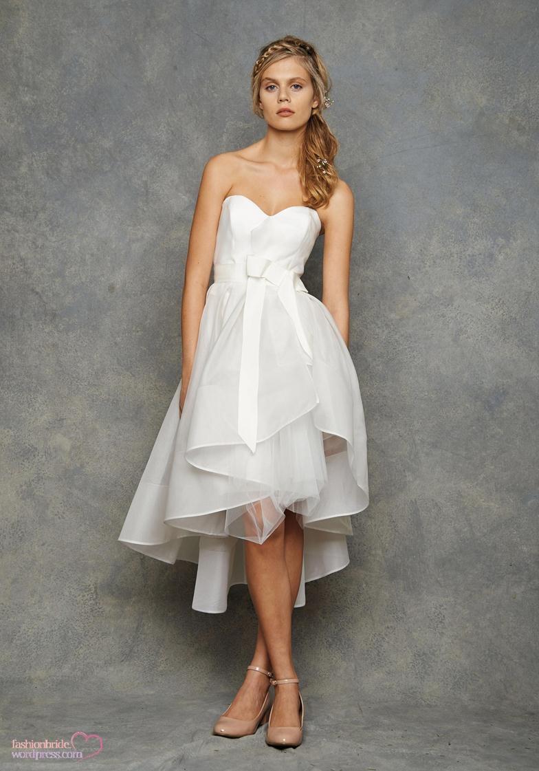 David Fielden Short Bridal Gowns   inspiration of prom fashion