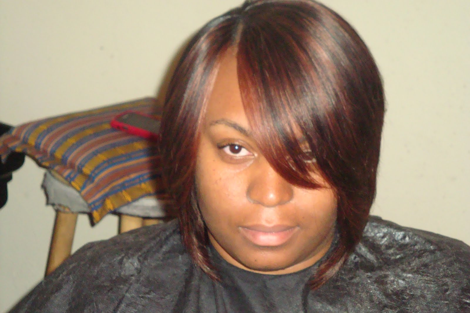 Bob With Invisible Part Sew In