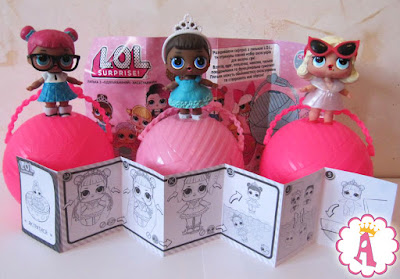 Коллекционные куколки сюрпризы L.O.L. Surprise фирмы MGA