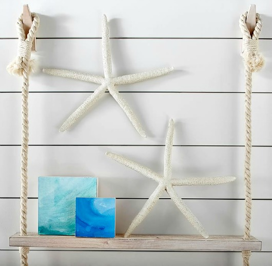 Large Resin Starfish for Wall Decor