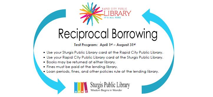 Sturgis Public Library: Reciprocal Borrowing