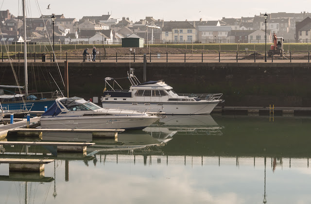Photo of work to create a caravan site at Maryport Marina