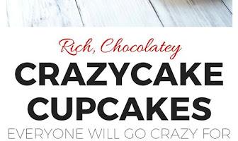 Vegan Chocolate Crazycake Cupcakes You'll Go Crazy For