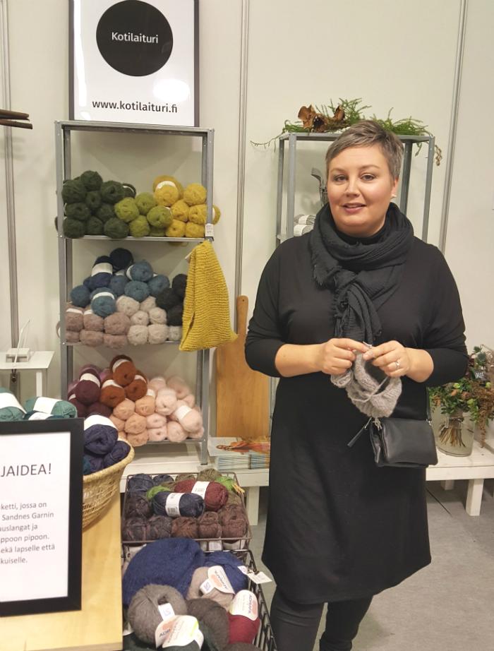 Kotilaiturin Kati Laituri Osaava Nainen 2018 -messuilla