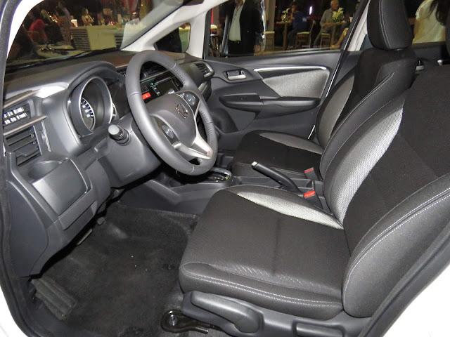 Novo Honda WR-V - interior