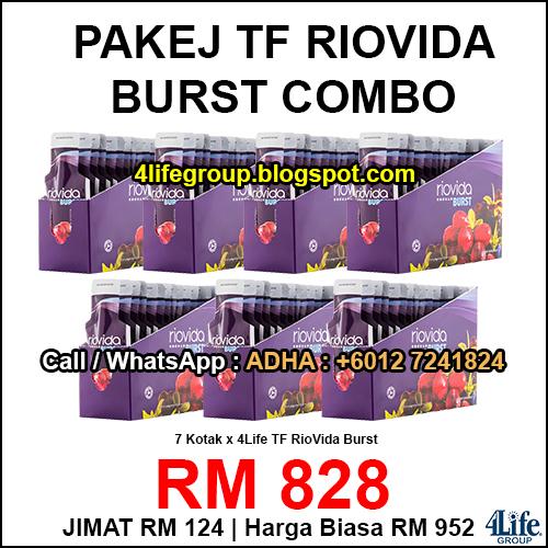 foto 4Life Transfer Factor Riovida Burst Combo