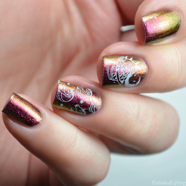 Magical Unicorn Nail Art