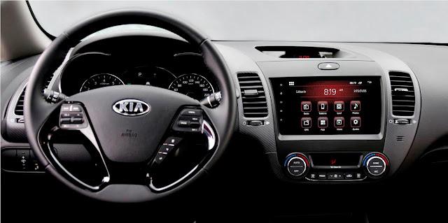 KIA Cerato Pro segunda generación 2017 interior
