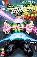 Os Novos 52! Lanterna Verde - Os Novos Guardiões #12