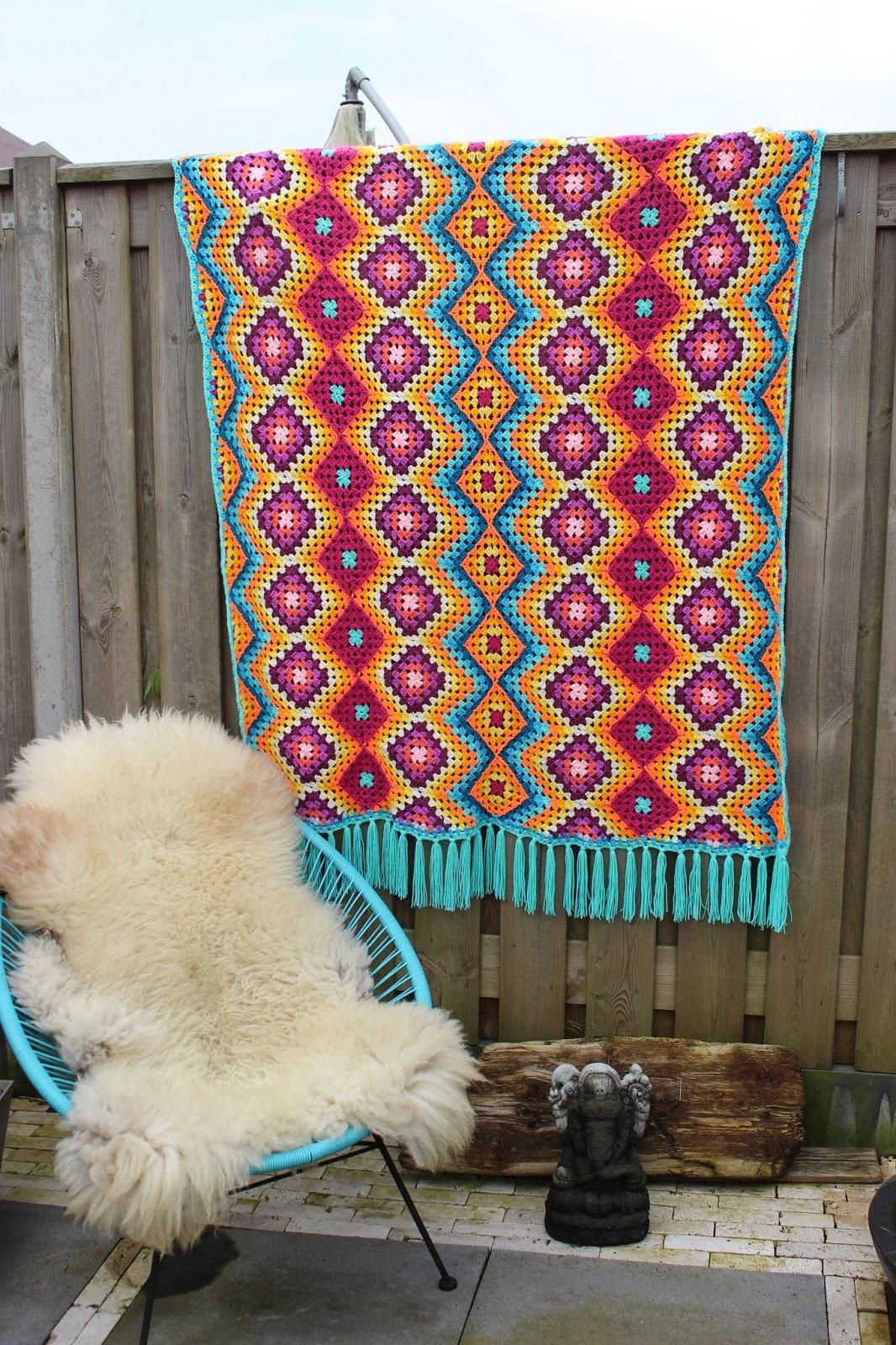 nr54 Mexicaanse deken