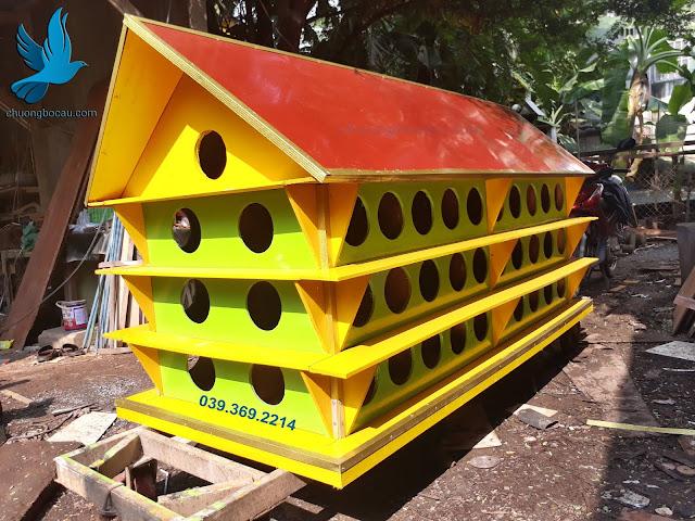 Địa chỉ sản xuất chuồng bồ câu gỗ tại Long An