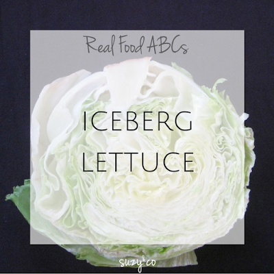 real food abcs - iceberg lettuce