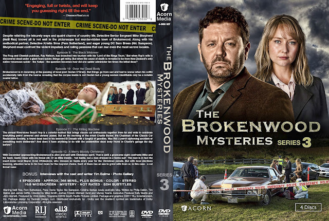 The Brokenwood Mysteries Season 3 DVD Cover