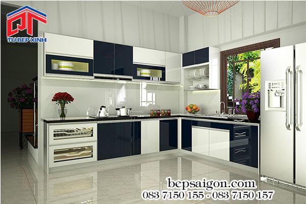 tủ bếp cao cấp, tủ bếp xinh, các tủ bếp đẹp