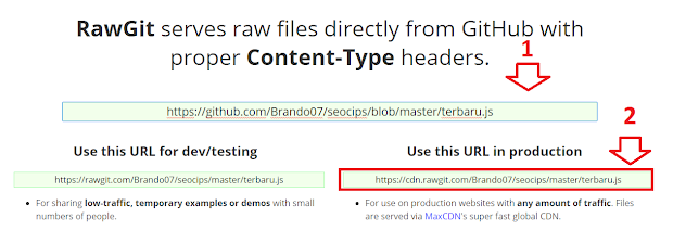 halaman Rawgit.com