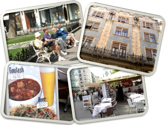 Goulash, horses and violins in Pesta, Buda and Óbuda by Laka kuharica: Budapest streets