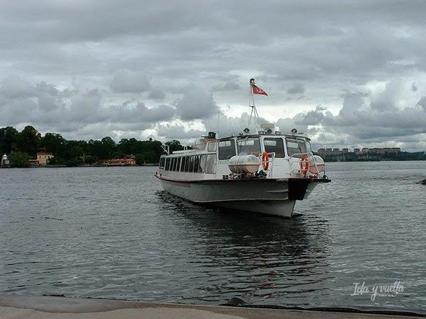 Barco al centro