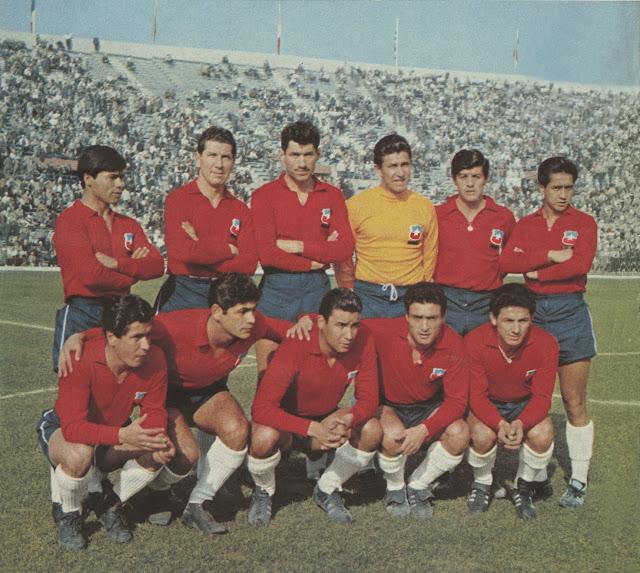 Formación de Chile ante Yugoslavia, Copa del Mundo Chile 1962, 16 de junio